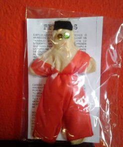 Muñeco de fetiche hombre rojo