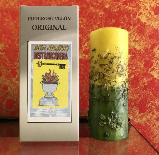 Velón herbóreo Destrancadera